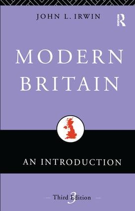 Modern Britain: An Introduction book cover