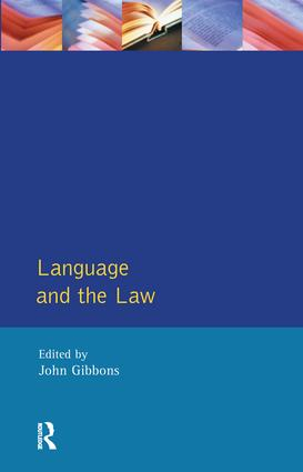 Lawyer's response to language and disadvantage before the law