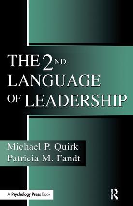 The 2nd Language of Leadership: 1st Edition (Hardback) book cover