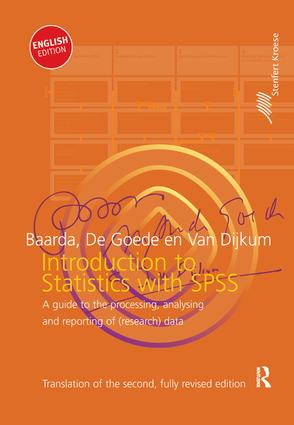 Introduction to Statistics with SPSS book cover