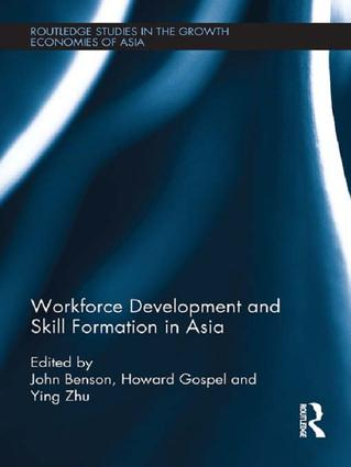 Workforce Development and Skill Formation in Asia book cover