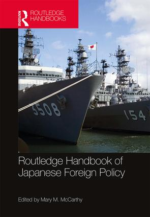 Routledge Handbook of Japanese Foreign Policy book cover