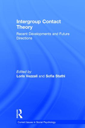 Intergroup Contact Theory: Recent developments and future directions, 1st Edition (Hardback) book cover