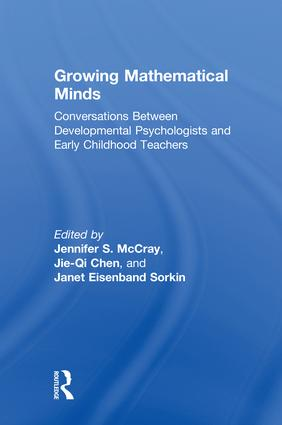 Growing Mathematical Minds: Conversations Between Developmental Psychologists and Early Childhood Teachers book cover