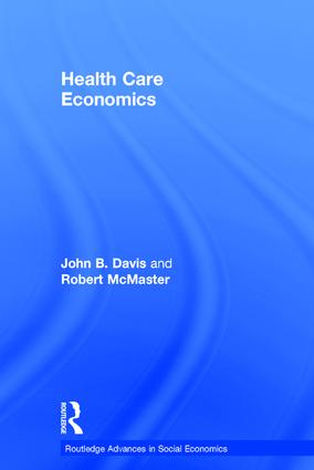 Health Care Economics: 1st Edition (Hardback) book cover