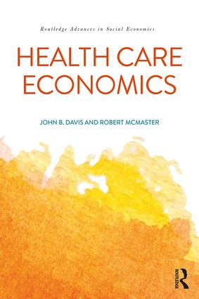 Health Care Economics: 1st Edition (Paperback) book cover