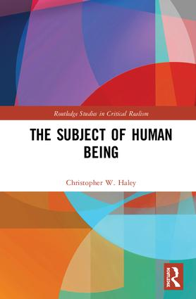 The Subject of Human Being book cover