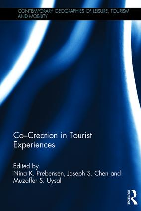 Co - Creation in Tourist Experiences: 1st Edition (Hardback) book cover