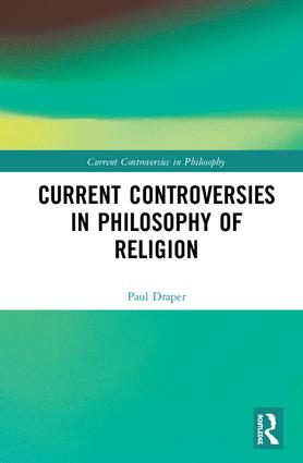 Current Controversies in Philosophy of Religion book cover