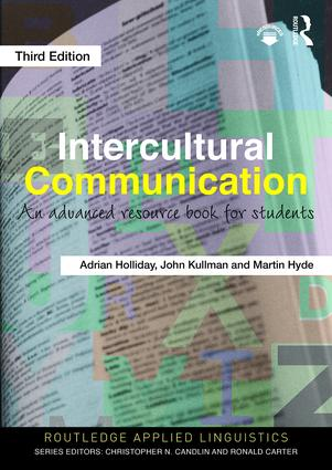 Intercultural Communication: An Advanced Resource Book for Students book cover