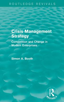Crisis Management Strategy