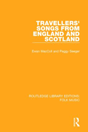 Travellers' Songs from England and Scotland book cover
