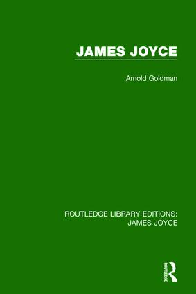 James Joyce: 1st Edition (Paperback) book cover