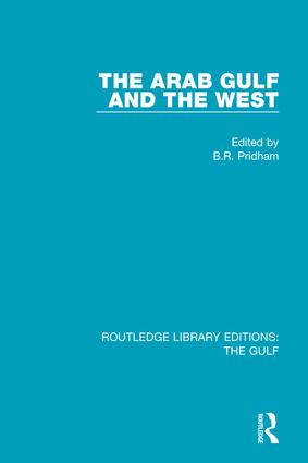 The Arab Gulf and the West book cover