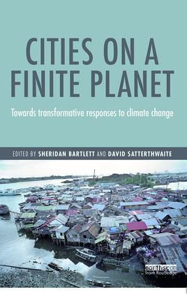 Cities on a Finite Planet: Towards transformative responses to climate change, 1st Edition (Paperback) book cover