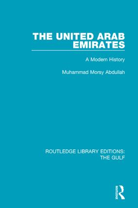 The United Arab Emirates: A Modern History book cover