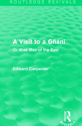 A Visit to a Gñáni: Or Wise Man of the East book cover