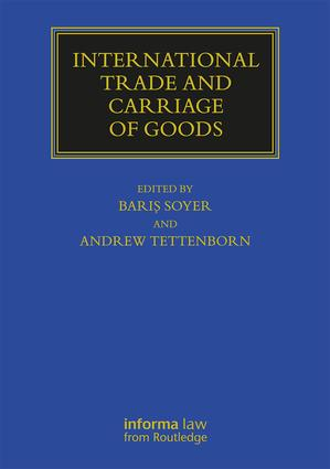 International Trade and Carriage of Goods book cover