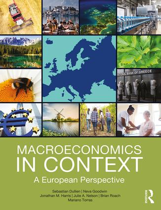 Macroeconomics in Context: A European Perspective (Paperback) book cover
