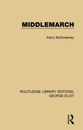 Middlemarch: 1st Edition (Paperback) book cover