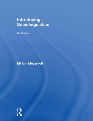 Introducing Sociolinguistics book cover