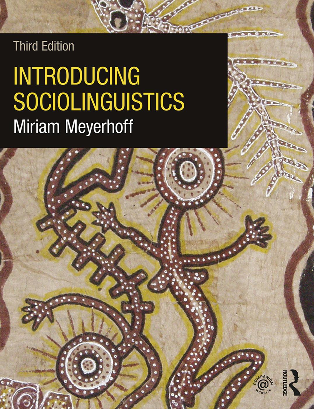 Introducing Sociolinguistics book cover
