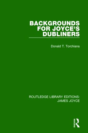 Backgrounds for Joyce's Dubliners: 1st Edition (Paperback) book cover