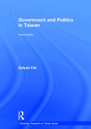 Government and Politics in Taiwan book cover