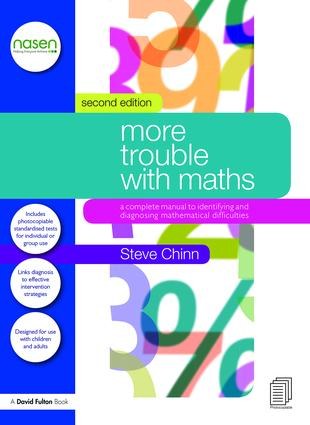 More Trouble with Maths: A Complete Manual to Identifying and Diagnosing Mathematical Difficulties, 2nd Edition (Paperback) book cover