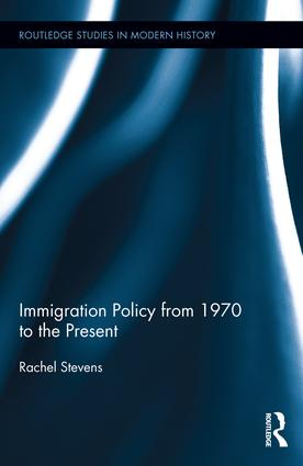 Immigration Policy from 1970 to the Present book cover