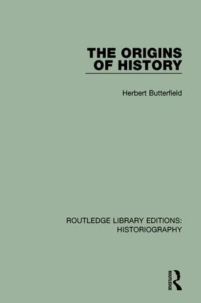 The Origins of History: 1st Edition (Paperback) book cover