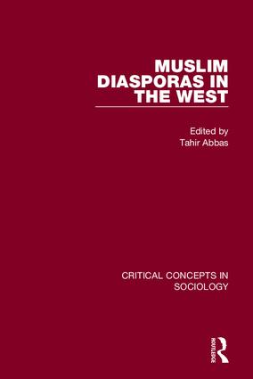 Muslim Diasporas in the West (Hardback) book cover