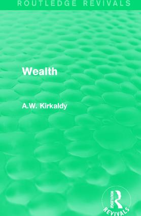 Wealth book cover