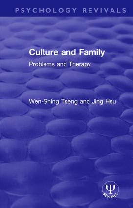 Culture and Family: Problems and Therapy book cover