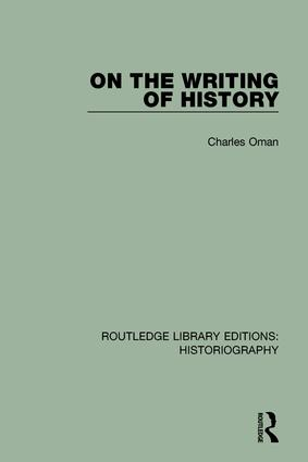 On the Writing of History: 1st Edition (Hardback) book cover