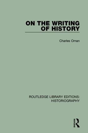 On the Writing of History