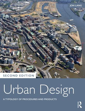 Urban Design: A Typology of Procedures and Products book cover