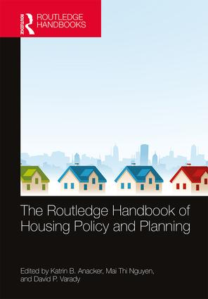 The Routledge Handbook of Housing Policy and Planning book cover