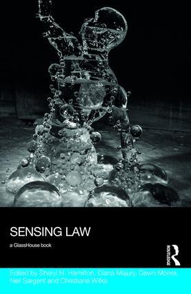 Sensing Law: 1st Edition (Hardback) book cover