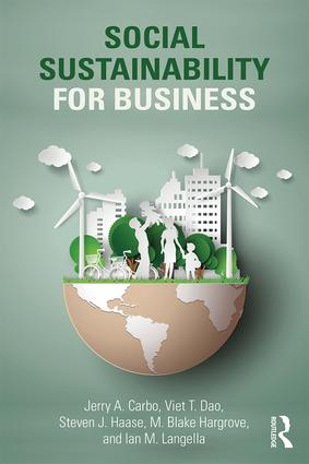 Social Sustainability for Business (Paperback) book cover
