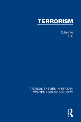 Terrorism (IISS) book cover
