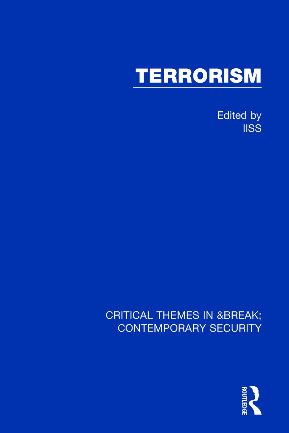 Terrorism (IISS): 1st Edition (Hardback) book cover