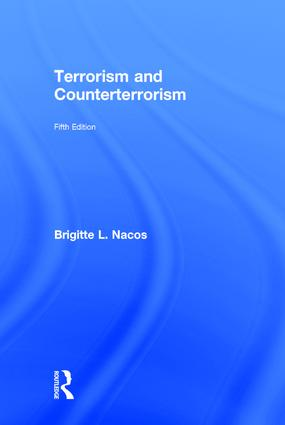 Terrorism and Counterterrorism: 5th Edition (Hardback) book cover