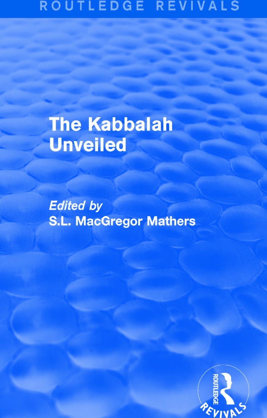The Kabbalah Unveiled book cover