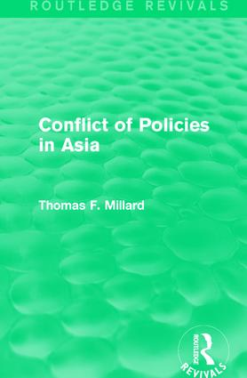 Conflict of Policies in Asia: 1st Edition (Paperback) book cover