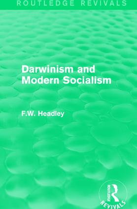 Darwinism and Modern Socialism book cover