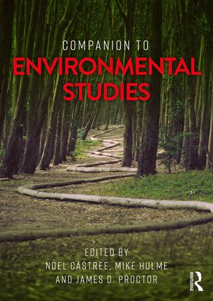 Companion to Environmental Studies: 1st Edition (Paperback) book cover