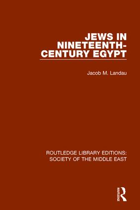 Jews in Nineteenth-Century Egypt: 1st Edition (Hardback) book cover