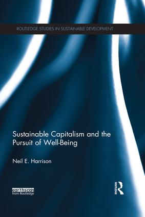 Sustainable Capitalism and the Pursuit of Well-Being (e-Book) book cover