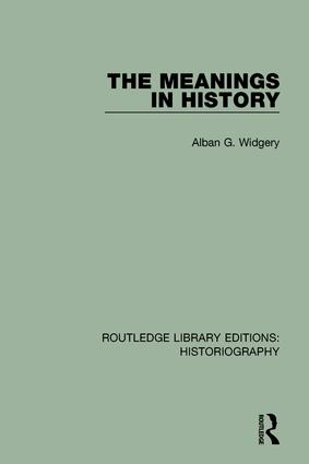 The Meanings in History book cover